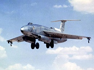 Martin XB-51 - A shot of 46-685 on approach, from the archives of the National Museum of the U.S. Air Force