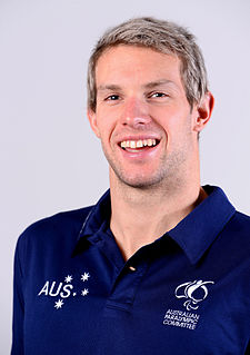 Daniel Fox (swimmer) Australian Paralympic swimmer