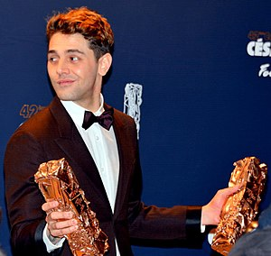 42nd César Awards - Xavier Dolan, director of It's Only the End of the World, won the César Awards for Best Director and Best Editing.