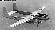 The second XF-11 prototype (with conventional propellers).