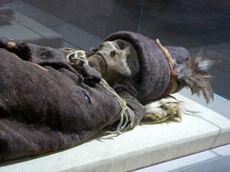 Tarim mummies - 'The Beauty of Loulan' - the oldest Tarim mummy