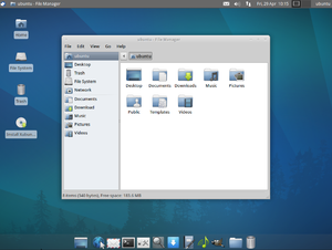 Light-weight Linux distribution - Xubuntu is described by its developers as light-weight in comparison to Ubuntu