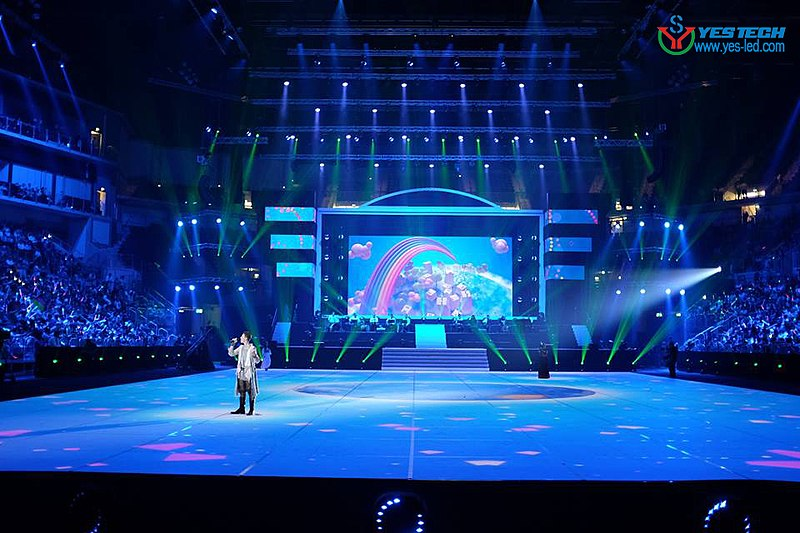 File Yestech Magic Stage Outdoor Led Screen P5 9 Iss Dome D 252 Sseldorf Germany Jpg Wikimedia