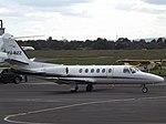 YU-BZZ Cessna Citation Bravo 550B Air Pink (35949084541).jpg