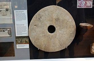 Rai stones - Image: Yap Stone Coin, British Museum