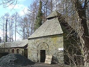 Ynysymaengwyn - The dovecote, one of the remaining buildings at Ynysymaengwyn