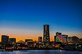 Yokohama cityscape at dawn; 2015.jpg