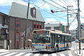 Yokohamamunicipalbus No.41line nearkishiyakoeniriguchi 2009-08-07.jpg