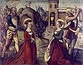 Zürcher Veilchenmeister Altarflügel c1505 Aussenseite Enthauptung.jpg