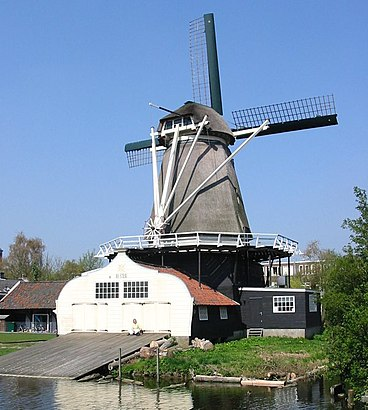 How to get to Houtzaagmolen De Ster with public transit - About the place