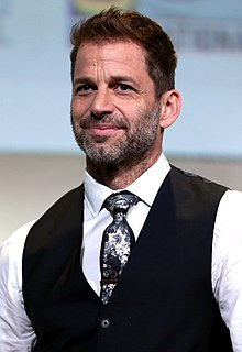 Zack Snyder American film director, film producer, and screenwriter