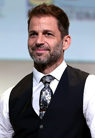 DC Extended Universe - Zack Snyder: the director of Man of Steel and Batman v Superman: Dawn of Justice; co-story writer and director of Justice League; and co-story writer of Wonder Woman