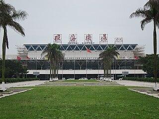 Zhuhai Jinwan Airport Airport serving Zhuhai, Guangdong, China
