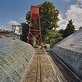 Zicht op watertoren, tussen kassen door - Hoek van Holland - 20405388 - RCE.jpg