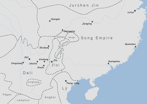 Ziqi Kingdom - Ziqi Kingdom in 1200