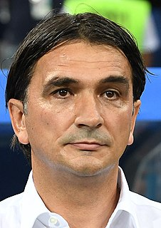 Zlatko Dalić Croatian football manager