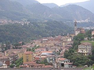 Zogno Comune in Lombardy, Italy