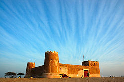 Zubara fort, in northeastern Qatar