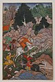 """Akbar Hunting"", Folio from an Akbarnama (History of Akbar) MET sf11-39-2r.jpg"