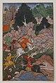 """Akbar Hunting"", Folio from an Akbarnama (History of Akbar) MET sf11-39-2r.jpg"