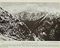 """""""The Frontier of Tibet"""" """"(...) where steep paths lead to Tibetan homes.""""- """"The Call of China's Great North-west or Kansu and Beyond"""" by Mrs. Howard Taylor, 1923, The China Inland Mission (page 6 crop).jpg"""