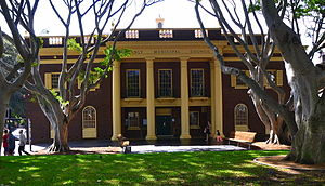 Northern Beaches Council - Manly Town Hall, the site of the first meeting of the new council on 19 May 2016.