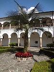 (Iglesia de San Francisco, Quito) Convento pic.ab17 interior courtyard.JPG