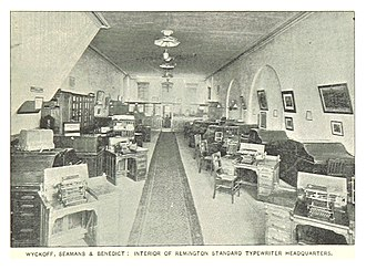 Clarence Seamans - REMINGTON STANDARD TYPEWRITER HEADQUARTERS