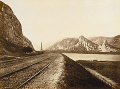 Édouard Baldus - Approach to the Mountain Pass at Donzère.jpg