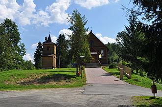 Łobozew Górny - Church in Łobozew Górny