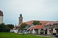 Żary, pałac Promnitzów, widok z ul. Osadników Wojskowych.jpg