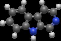 La prototipo de klaso de kunmetaĵoj konataj kiel β-carboline