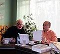 Валерий Ганичев, Андрей Черномырдин. 21 октября 2012 г. Переделкино-01.jpg