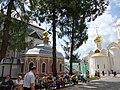 Вид на Михеевскую церковь и Троицкий собор Троице-Сергиева лавра.JPG
