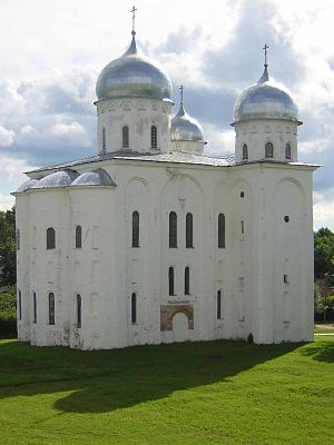 Yuriev Monastery - St. George's Cathedral was built in 1119
