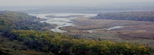 Landscape park (protected area) - Regional Landscape Park «Kleban-Byk». Kleban-Bytske water basin.