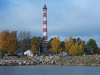 Russian Hydrographic Service - The Osinovetsky Lighthouse near the Neva entrance is one of the tallest lighthouses in the world.