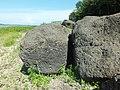 Петроглифы Сикачи-Аляна верхняя группа Круг и какой-то узор.JPG