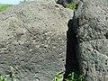 Петроглифы Сикачи-Аляна верхняя группа Круг и какой-то узор ф1.JPG