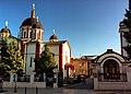 Саборна црква Успења пресвете Богородице у Крагујевцу (бочни поглед).JPG