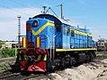 ТЭМ2-6208, Kazakhstan, Karaganda region, Karaganda depot (Trainpix 132290).jpg