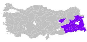 بیش از 6 تا 8 میلیون کرد در استانبول انکارا و ازمیر زندگی می کنند