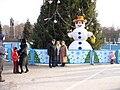 У Новогодней елки на площади Ленина - panoramio.jpg