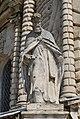 """Фигура на фасаде Церкви икона Божией Матери """"Замение"""" (Дубровицы).JPG"""