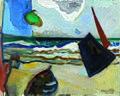 משה רוזנטליס. סירות בנמל יפו. 2000.jpg