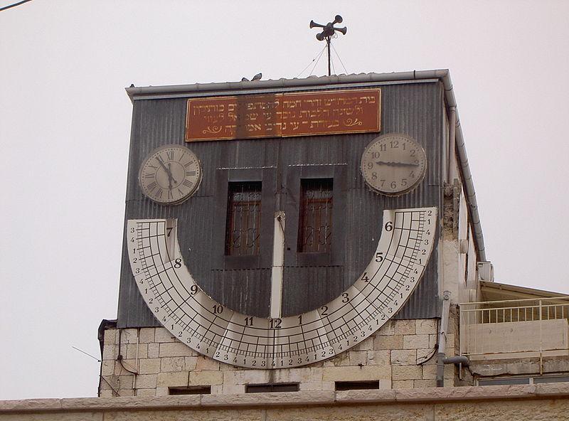 שעון השמש (רחוב יפו