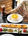 سبزی پلو با ماهی کبابی رستوران لذیذ الماس.jpg