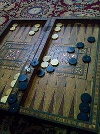 أسماء النرد في لعبة الطاولة