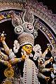 বাগবাজার সার্বজনীন দুর্গোৎসব ২০১৮ (মুখ্য দূর্গা প্রতিমার পার্শ্বচিত্র).jpg