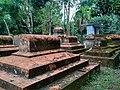 বাঘা মসজিদের সম্মুখভাগের মাজার.jpg